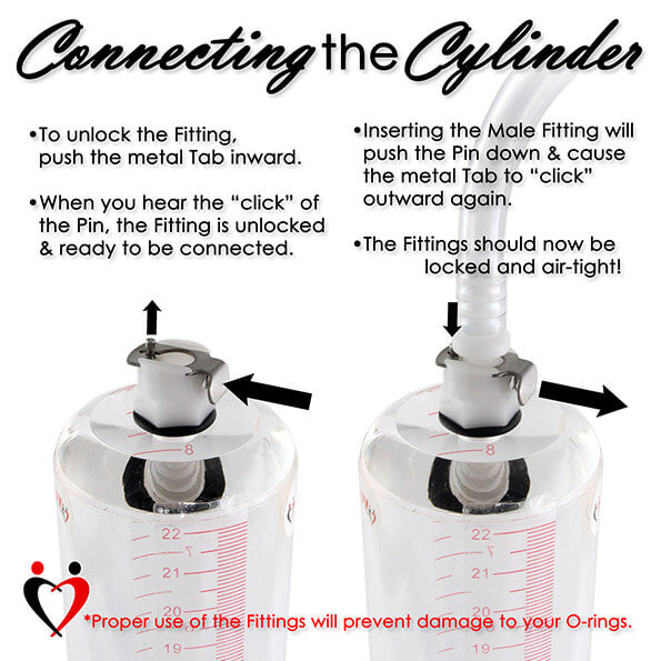 "... Pistol Grip Penis Vacuum Pump Kit 9"" Cylinder CHOOSE ACCESSORIES"
